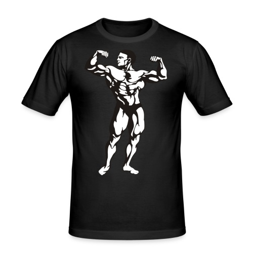 Oldschool Bodybuilding GOLIATHWEAR - Männer Slim Fit T-Shirt