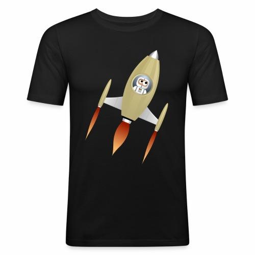 Spaceship - T-shirt près du corps Homme
