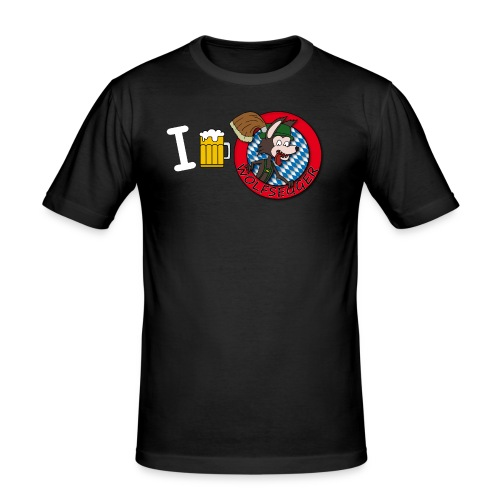 BierDesign - Männer Slim Fit T-Shirt