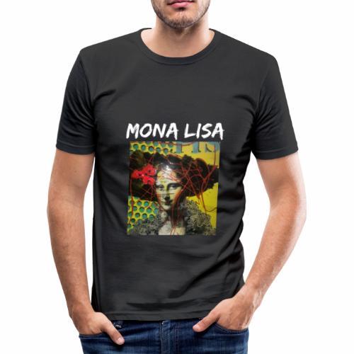 Mona Lisa - Men's Slim Fit T-Shirt