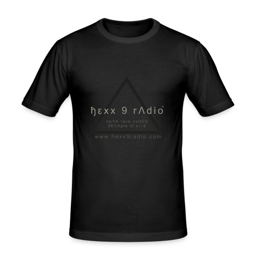 ђεƔƔ 9 radio tshirt - Men's Slim Fit T-Shirt