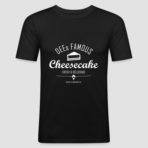 DEEs Famous Cheescake - Männer Slim Fit T-Shirt
