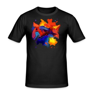 Art graffiti style - Men's Slim Fit T-Shirt