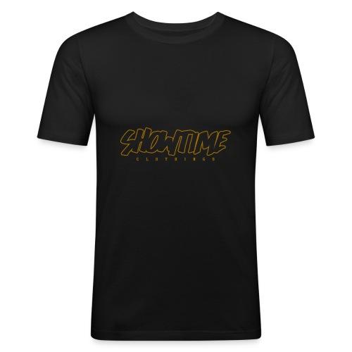 SHOWTIME CLOTHINGS Marker effect outlines - T-shirt près du corps Homme