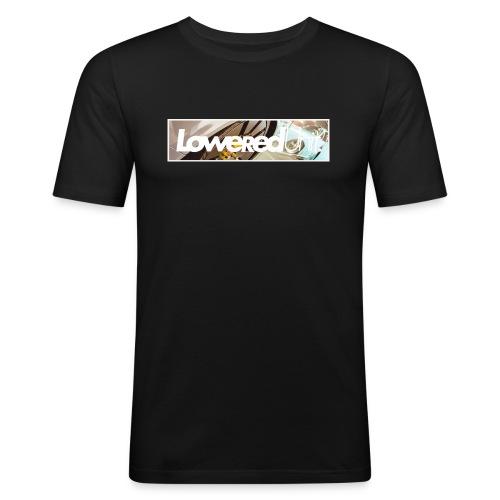 Loweredunit. Reflection - Männer Slim Fit T-Shirt