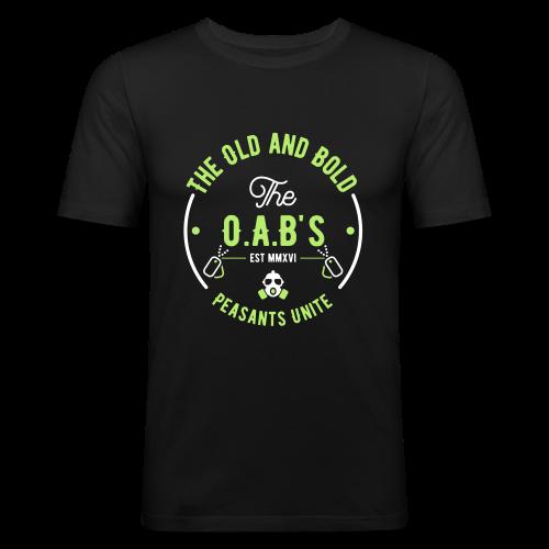 OAB unite green - Men's Slim Fit T-Shirt