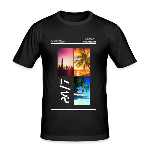 MPCG Crew Summer Party - Männer Slim Fit T-Shirt