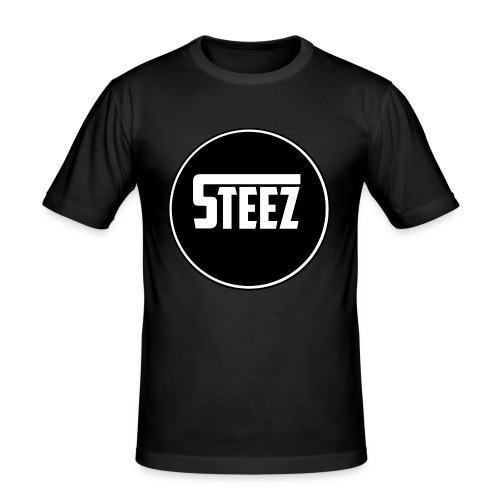 Steez t-Shirt black - slim fit T-shirt
