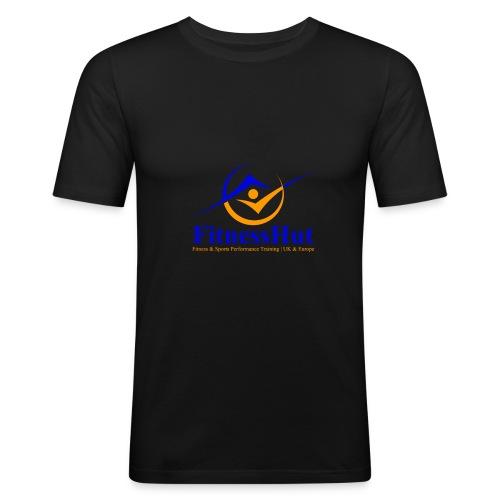 FitnessHutUK Logo Kit - Men's Slim Fit T-Shirt