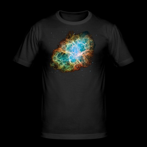 Crabnebula - Männer Slim Fit T-Shirt