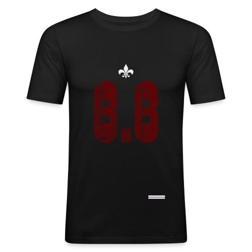 6.6 front - Slim Fit T-shirt herr
