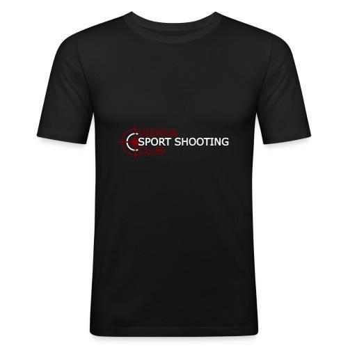 Logo Groß - Männer Slim Fit T-Shirt