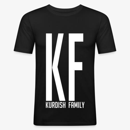 Kurdish Family - Männer Slim Fit T-Shirt