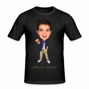 Ethan's World - Men's Slim Fit T-Shirt