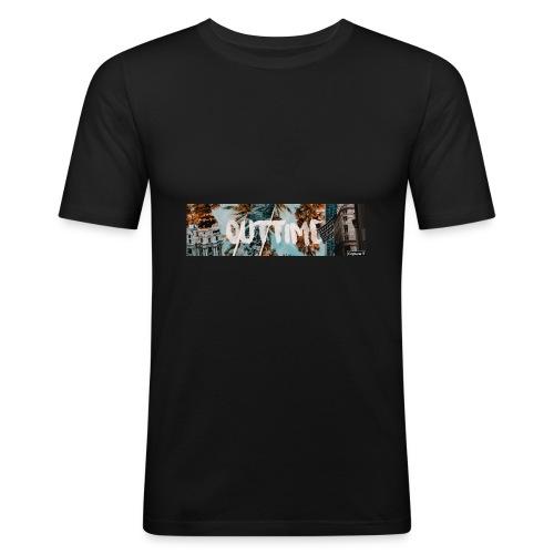OutTime Capture IT Merch design - Männer Slim Fit T-Shirt