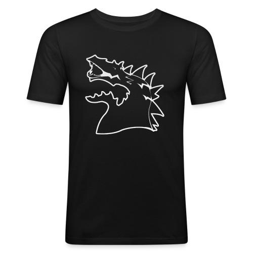 EnVision Minimal - Männer Slim Fit T-Shirt