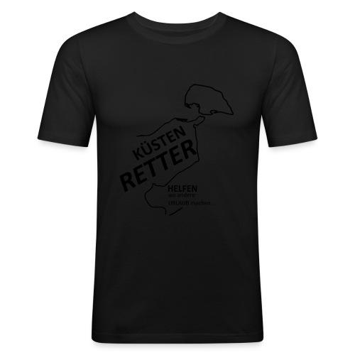Küstenretter - Streetwear für Helfer - Männer Slim Fit T-Shirt
