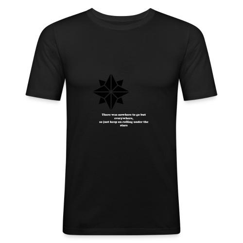 North Star - Maglietta aderente da uomo