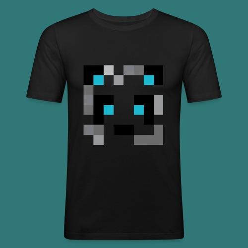 Dustino0's panda - Men's Slim Fit T-Shirt