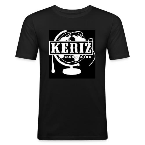 Logo Keriz - Männer Slim Fit T-Shirt