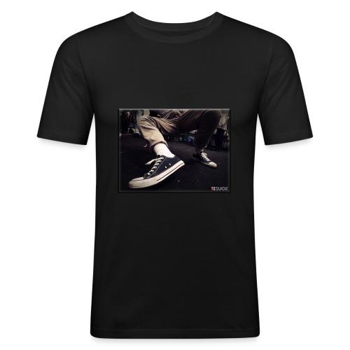 My Steps by SUOS. - Maglietta aderente da uomo