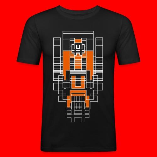 FUTURA - Maglietta aderente da uomo
