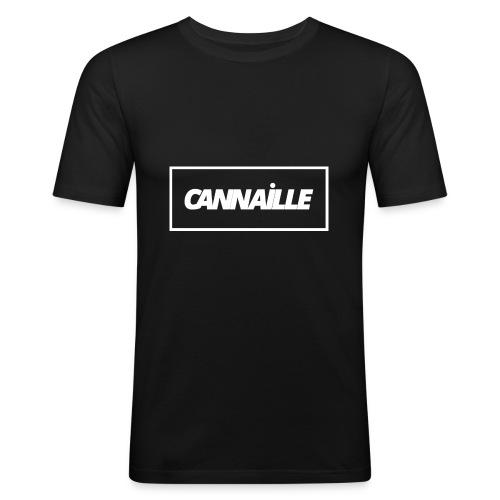 Cannaille - T-shirt près du corps Homme