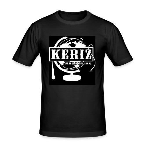 Logo Keriz - Männer Slim Fit T-Shirt