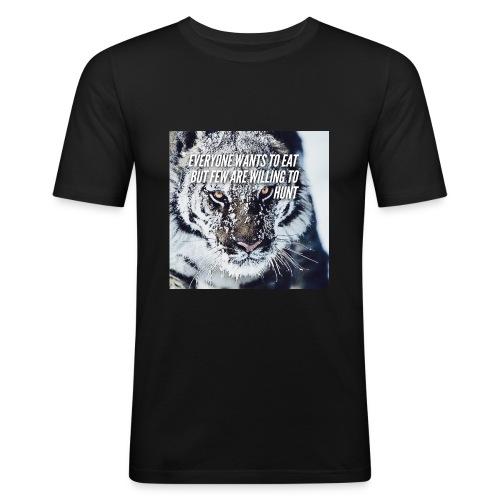 Eat Hunt - slim fit T-shirt