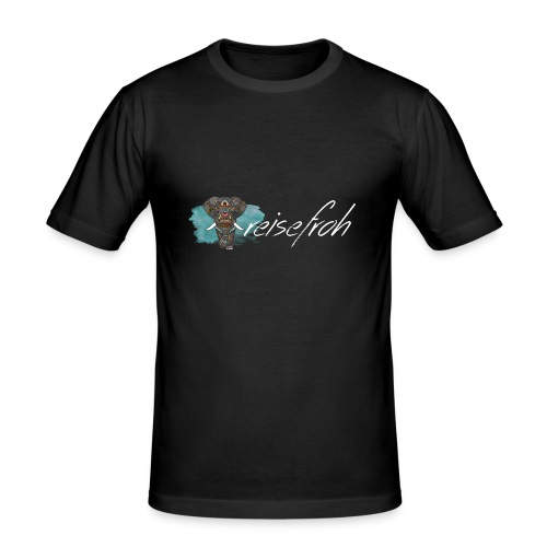 reisefroh Design - Männer Slim Fit T-Shirt