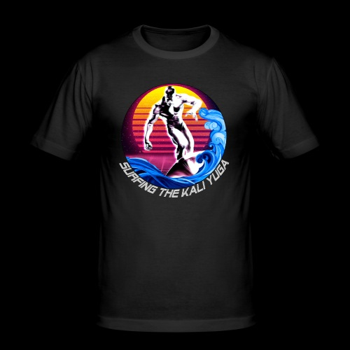 Surfing the Kali Yuga - T-shirt près du corps Homme