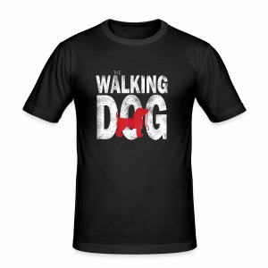 The Walking Dog - Männer Slim Fit T-Shirt