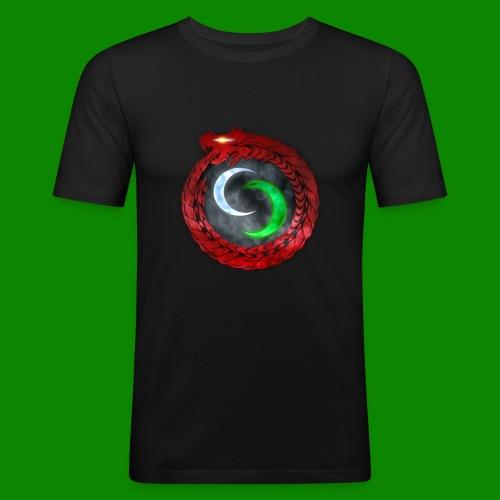 Emblème des créatures surnaturels. - T-shirt près du corps Homme