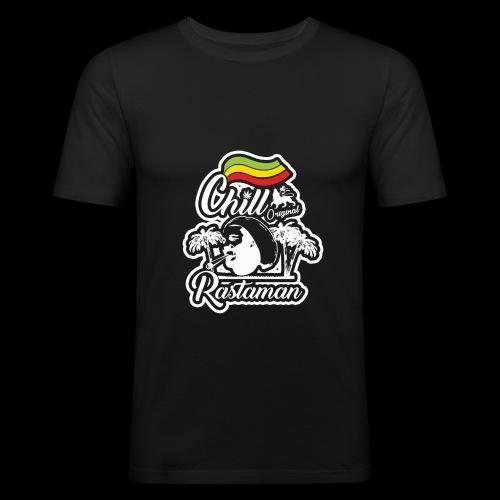 artfull dodger Chill Rastaman White version - T-shirt près du corps Homme
