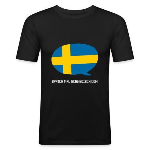 Sprich Motte Englisch - Männer Slim Fit T-Shirt