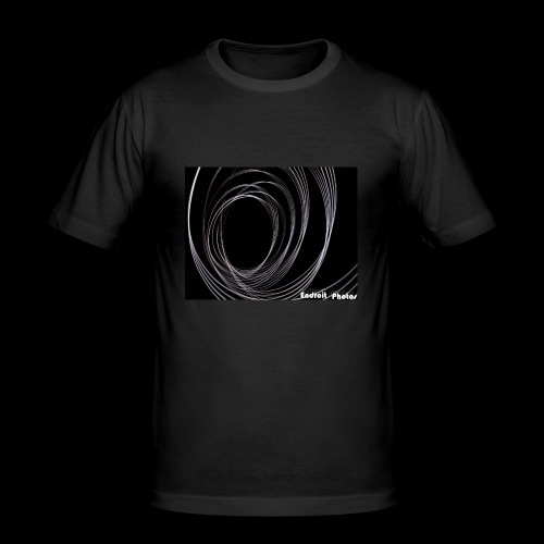 Lightpainting 2 - Männer Slim Fit T-Shirt
