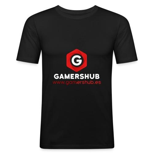 GamersHUB Oficial Promocional - Camiseta ajustada hombre