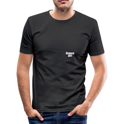 white - Männer Slim Fit T-Shirt
