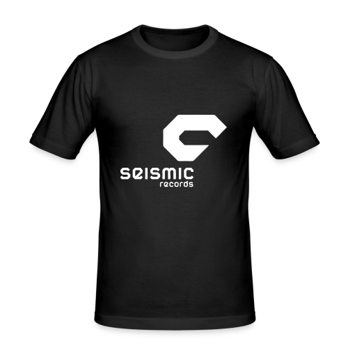 Seismic Records - Men's Slim Fit T-Shirt
