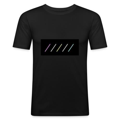 MUSIC NEONS - T-shirt près du corps Homme