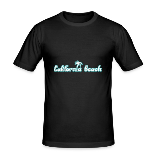 California Beach - Slim Fit T-shirt herr