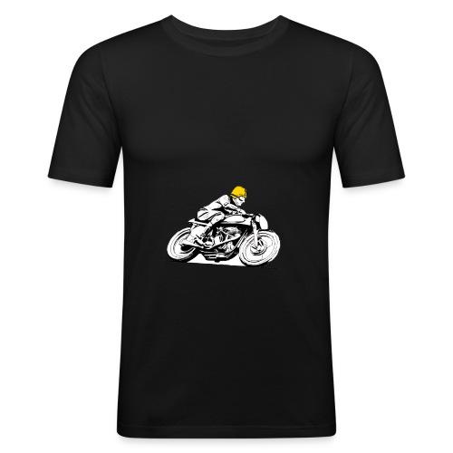 Café Racer - Maglietta aderente da uomo