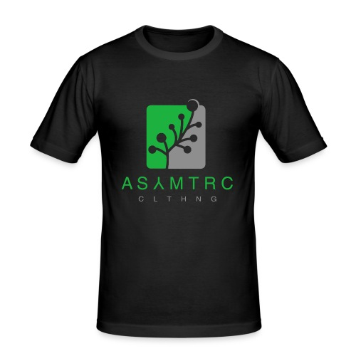 Asymetric Clothing - Imperfection at it's finest - Männer Slim Fit T-Shirt