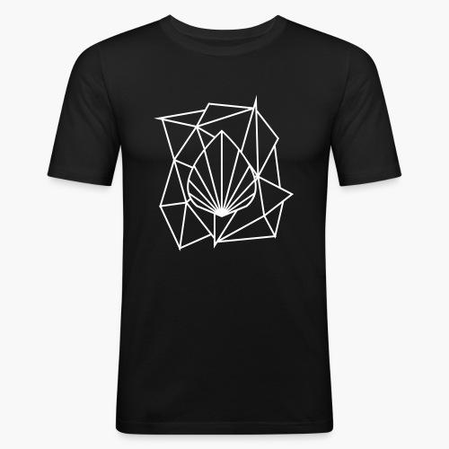 Polygon Augmented Logo - Men's Slim Fit T-Shirt