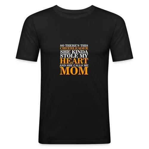 Cheerleader Mom T-shirt - T-shirt près du corps Homme