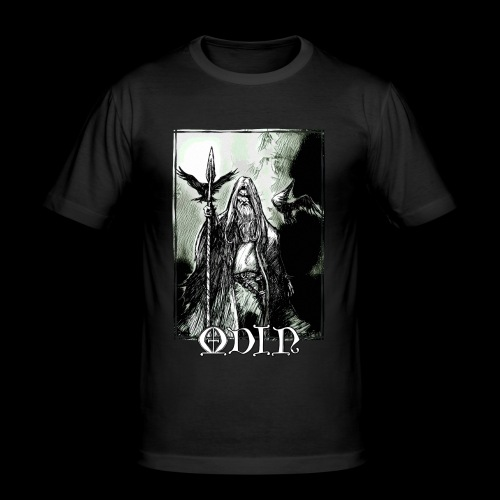 Odin the Wanderer - Men's Slim Fit T-Shirt