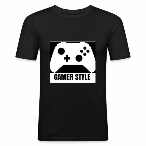GAMER StYLE - Männer Slim Fit T-Shirt