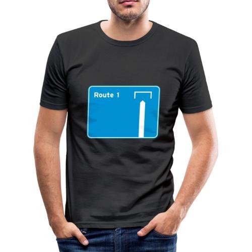 Route 1 - Men's Slim Fit T-Shirt