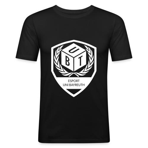 Logo_weiß - Männer Slim Fit T-Shirt