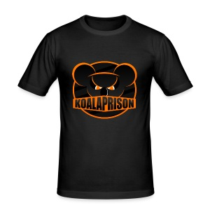 Koala Prison Logo - Men's Slim Fit T-Shirt
